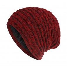 Вязаная шапка - Knitted - Красная