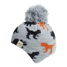 Детская шапка - Mok - Серая