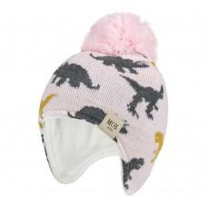 Детская шапка - Mok - Розовая