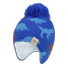 Детская шапка - Mok - Синяя