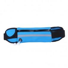 Сумка на пояс для бега - RunningBag - Голубая