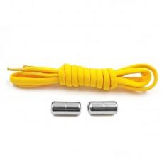 Эластичные шнурки для обуви - linerPlus - Желтые