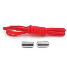 Эластичные шнурки для обуви - linerPlus - Красные