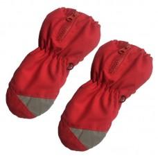 Детские зимние варежки - BR - Красные