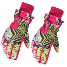 Детские зимние перчатки - Snow - Розовые