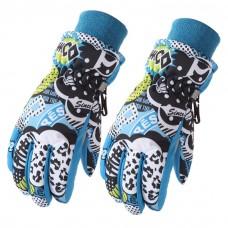 Детские зимние перчатки - Snow - Синие