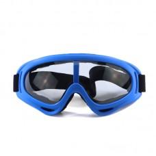 Маска сноубордическая |8173| Прозрачные линзы | Очки для катания на сноуборде SunShine