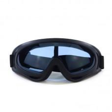 Маска сноубордическая |8177| Затемнённые линзы | Очки для катания на сноуборде SunShine
