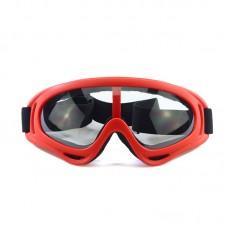 Маска сноубордическая |8174| Прозрачные линзы | Очки для катания на сноуборде SunShine