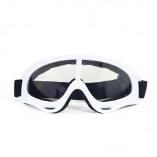 Маска сноубордическая |8175| Прозрачные линзы | Очки для катания на сноуборде SunShine