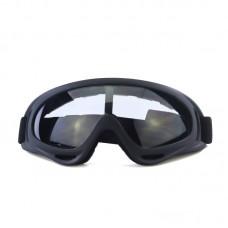 Маска сноубордическая |8176| Прозрачные линзы | Очки для катания на сноуборде SunShine