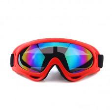 Маска сноубордическая |8171| Зеркальные линзы | Очки для катания на сноуборде SunShine