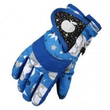 Детские зимние перчатки - ChildSnow - Синие