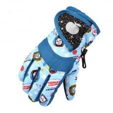 Детские зимние перчатки - ChildSnow - Голубые