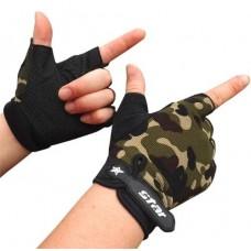 Перчатки без пальцев - Atletik - Камуфляж