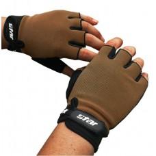 Перчатки без пальцев - Atletik - Коричневые