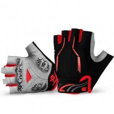 Перчатки без пальцев - CoolChange - Красные