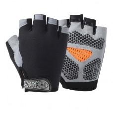 Перчатки без пальцев - Huwai - Чёрные