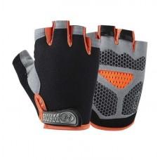 Перчатки без пальцев - Huwai - Оранжевые